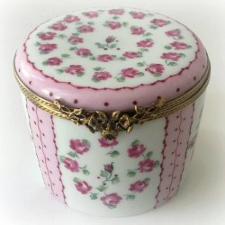 Pink and gold porcelain...