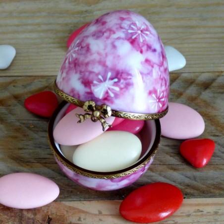 Boite à dents porcelaine cadeau naissance personnalisé