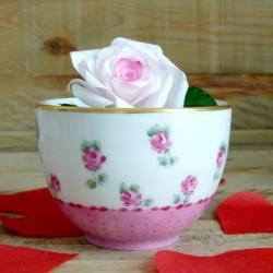 Porcelain tea bowl without...
