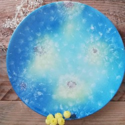 Porcelain bread plate with...