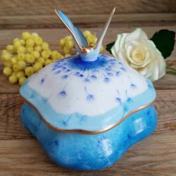 Butterfly porcelain box...