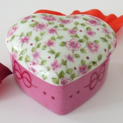 Liberty porcelain heart...
