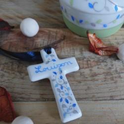 Croix Communion porcelaine...
