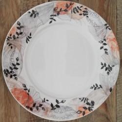 Assiette plate porcelaine...