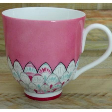 Grande tasse porcelaine inspiration orient