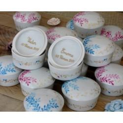 boite porcelaine naissance personnalisée