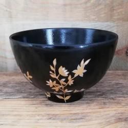 Petit bol porcelaine noir...