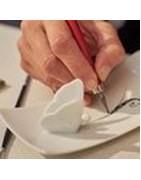 Porcelaine fine de France peinte à la main sur mesure et personnalisée