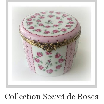collection porcelaine Secret de roses