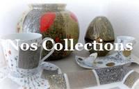 Les collections permanentes de l'Atelier porcelaine - décor sur porcelaine peint à la main