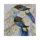 Aujourd'hui mise en couleurs des 2 oiseaux...