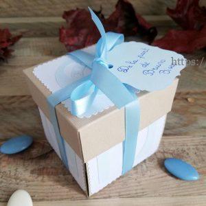 boite cadeau naissance ou baptême personnalisable