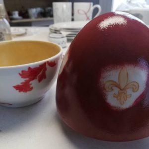 decor sur mesure oeuf porcelaine